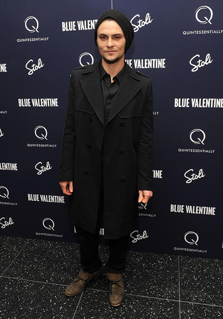 Shiloh Fernandez at the New York premiere of