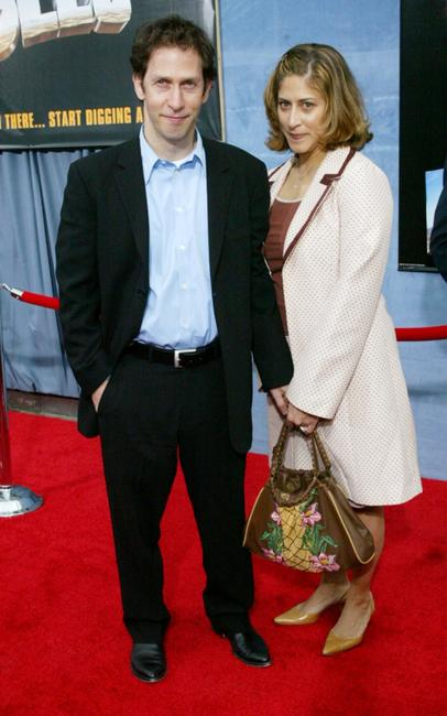 Tim Blake Nelson and his guest at the premiere of