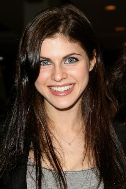 Alexandra Daddario at the Evening of Italian Fashion and Style.
