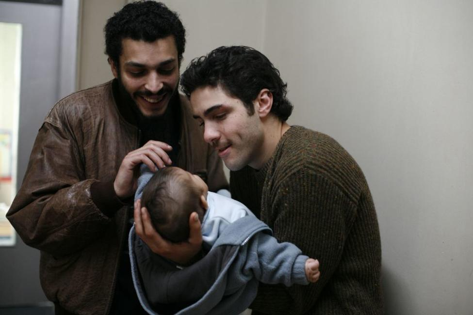 Adel Bencherif as Ryad and Tahar Rahim as Malik in