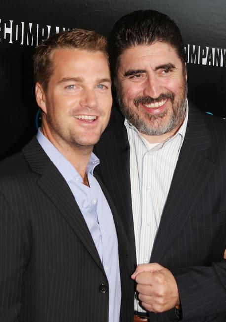 Chris O'Donnell and Alfred Molina at the Los Angeles premiere screening of