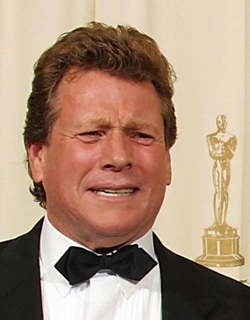 Ryan O'Neal at the 74th Academy Awards.