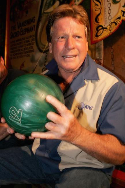 Ryan O'Neal at the Los Angeles The Inaugural Celebrity Rock 'N Bowl Event.
