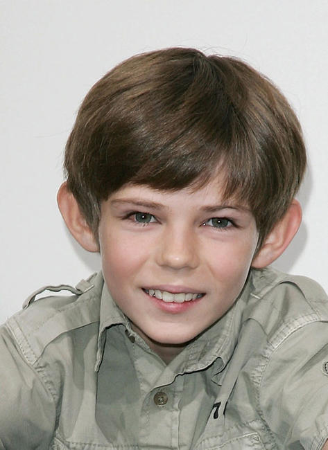 Robbie Kay at the photocall of