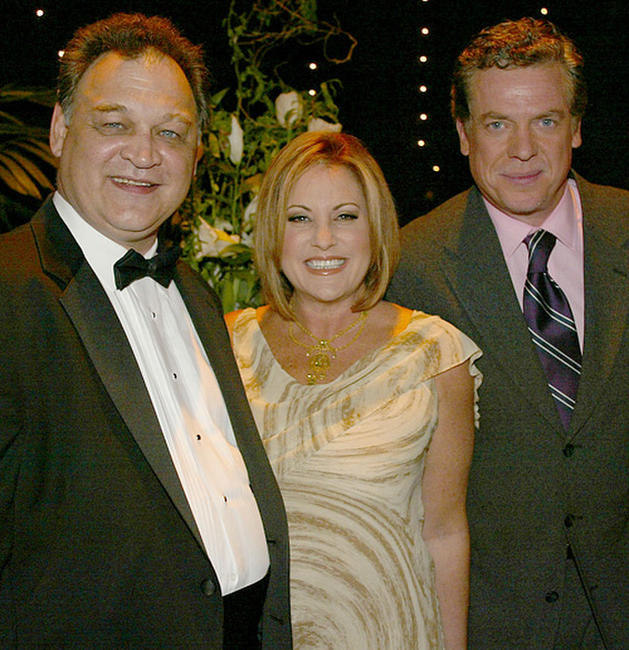 Ed O'Ross, Lorna Luft and Christopher McDonald at the