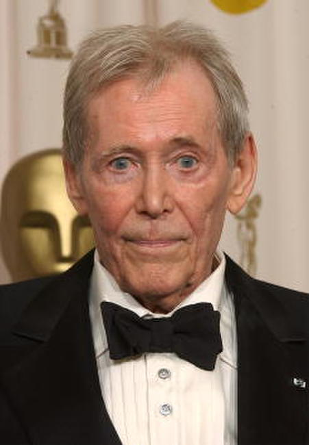Peter O'Toole at the 75th Annual Academy Awards.