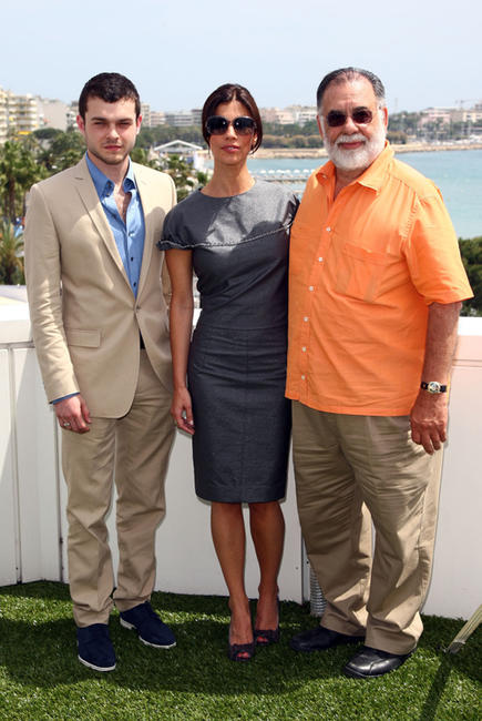 Alden Ehrenreich, Maribel Verdu and director Francis Ford at the cast photocall of