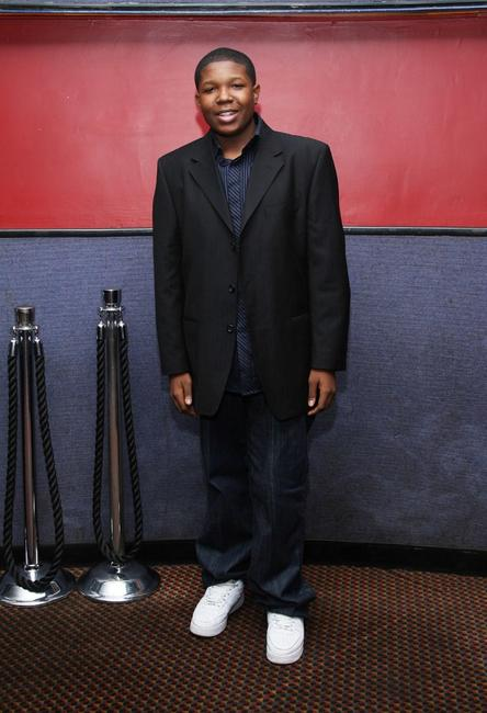 Denzel Whitaker at the private screening of