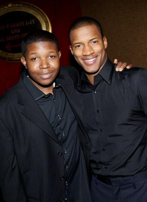 Denzel Whitaker and Nate Parker at the premiere of