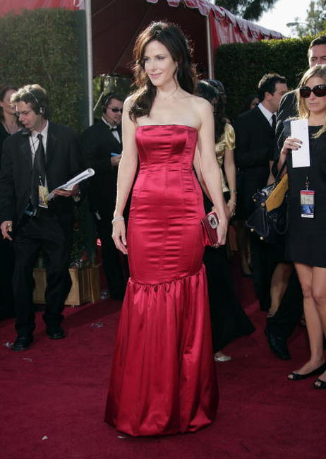 Mary-Louise Parker at the 59th Annual Primetime Emmy Awards in L.A.