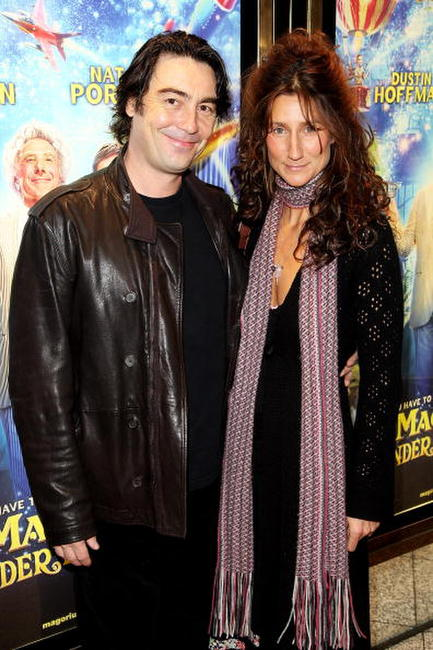 Nathaniel Parker and Anna Patrick at the UK premiere of