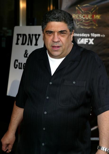 Vincent Pastore at the premiere screening of