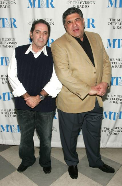 David Proval and Vincent Pastore at the Museum of Television and Radio presentation of