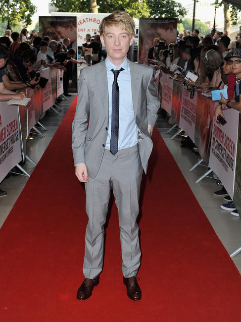 Domhnall Gleeson at the World premiere of