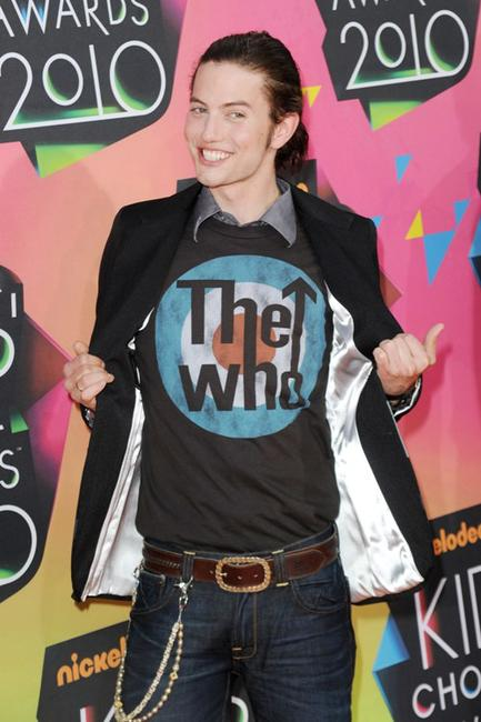 Jackson Rathbone at the Nickelodeon's 23rd Annual Kids Choice Awards.