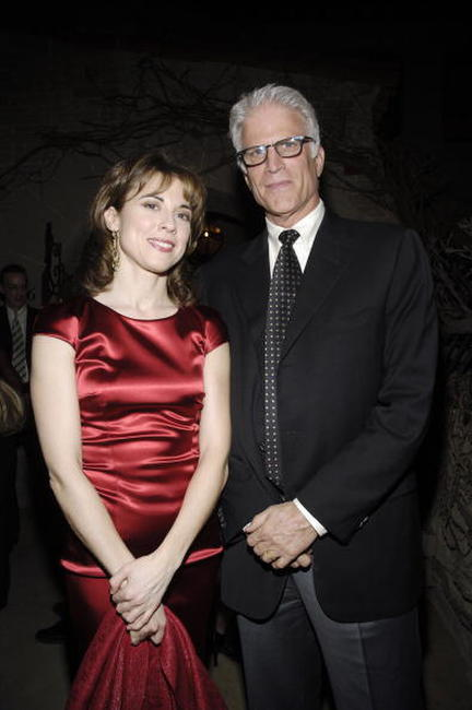 Rebecca Pidgeon and Ted Danson at the Geffen Playhouse.