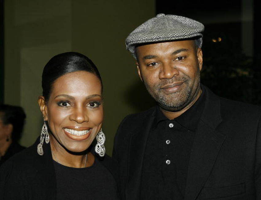 Sheryl Lee Ralph and Nelson George at the LA premiere of