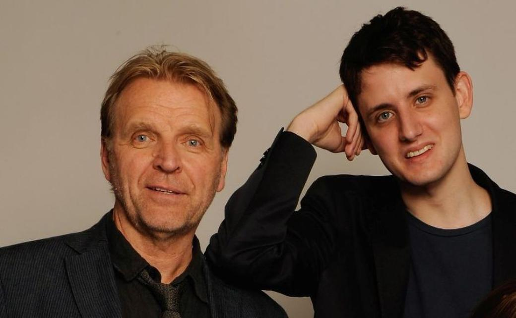 David Rasche and Zach Woods at the 2009 Tribeca Film Festival.