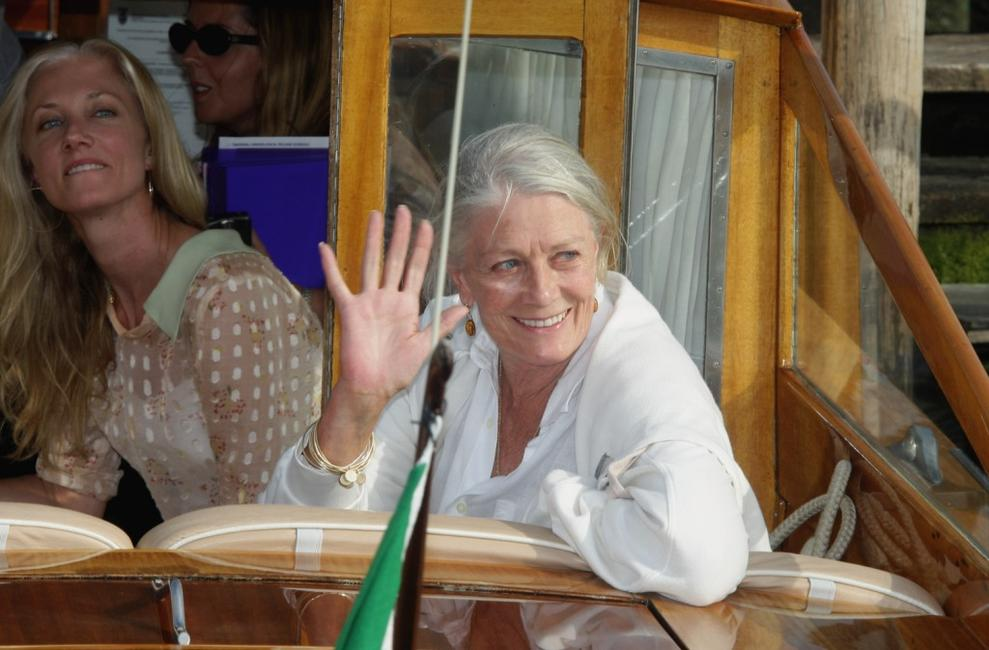 Vanessa Redgrave and Joely Richardson at the 64th Venice Film Festival in Venice.