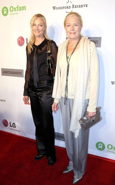 Joely Richardson and Vanessa Redgrave at the Annual Oxfam party.