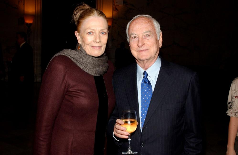 Vanessa Redgrave and James Ivory at the after party of the premiere of