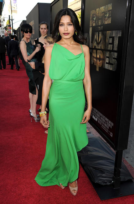 Freida Pinto at the California premiere of