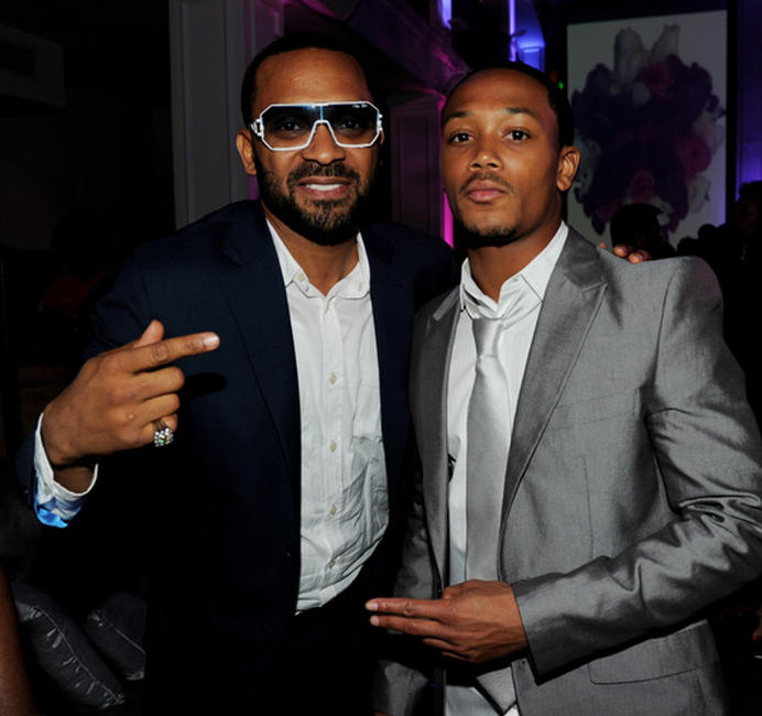 Mike Epps and Romeo Miller at the after party of the California premiere of