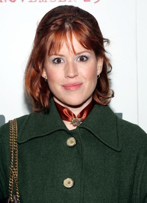 Molly Ringwald at the premier of the