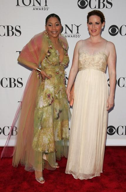 Molly Ringwald and Elisabeth Withers-Mendes at the 60th Annual Tony Awards.