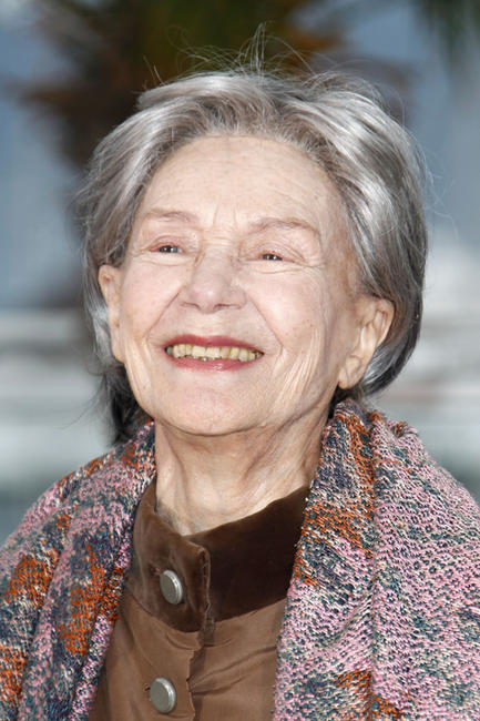 Emmanuelle Riva at the photocall of