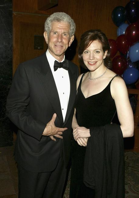 Tony Roberts and daughter Nicole at the Manhattan Theatre Club's Spring Gala.