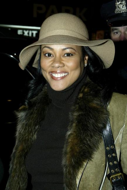 Lela Rochon at the New York opening night of