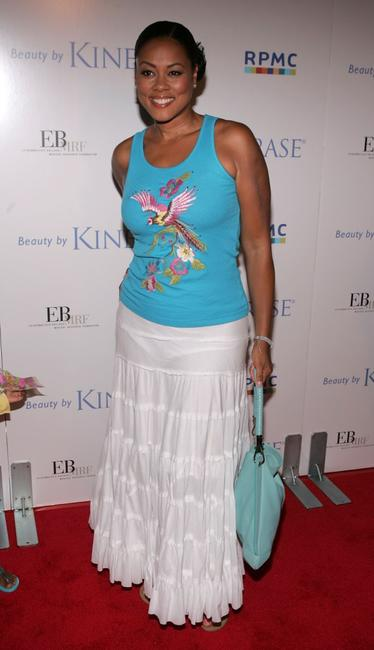 Lela Rochon at the EB Medical Research Foundation fundraiser.