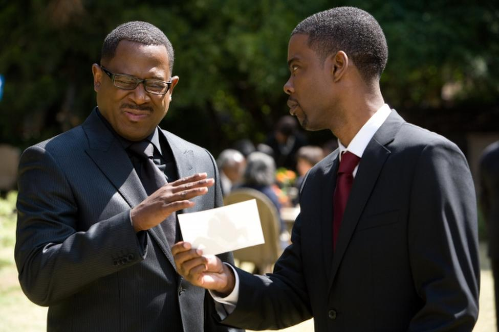 Martin Lawrence and Chris Rock in
