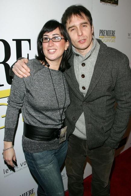 Sam Rockwell and Christine Petrillo at the