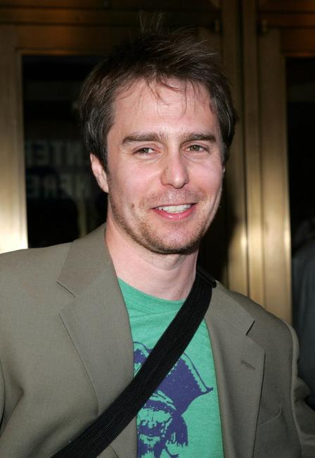 Sam Rockwell at the opening night of