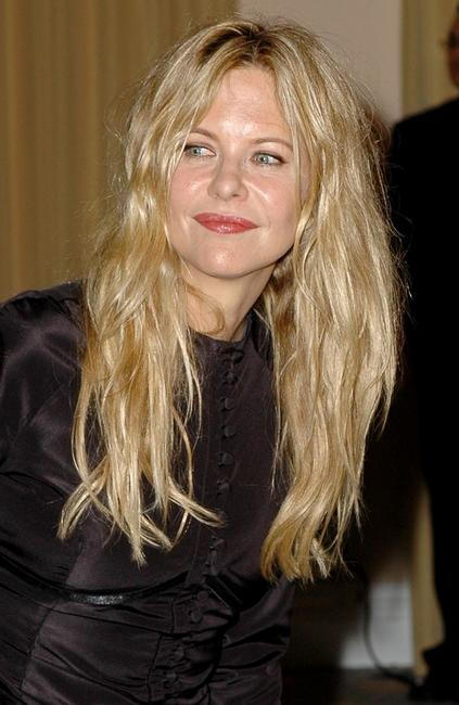 Meg Ryan at the International Women's Media Foundation's Courage Awards.