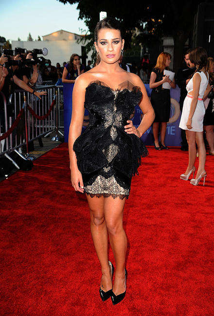 Lea Michele at the California premiere of