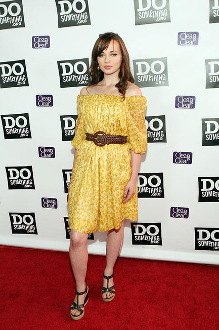 Ashley Rickards at the DoSomething.org Celebrates The Power Of Youth party in California.
