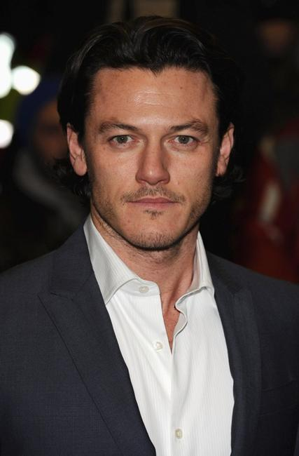 Luke Evans at the UK premiere of