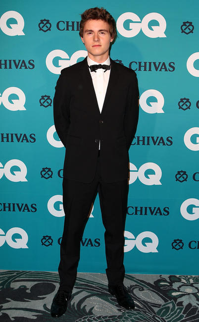 Callan McAuliffe at the GQ Men Of The Year Awards 2012 in Sydney.