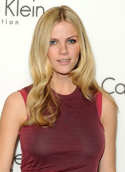 Brooklyn Decker at the Women's Fall 2010 Calvin Klein Collection.