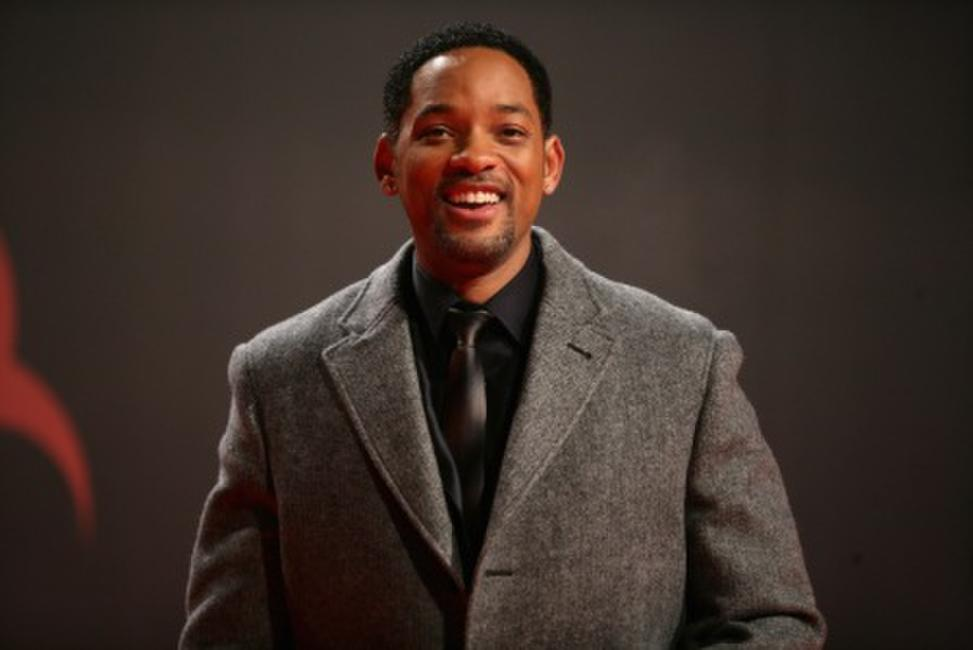 Will Smith at the press conference for