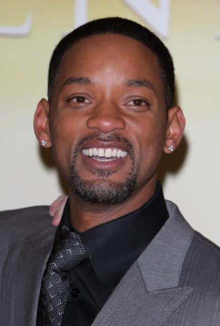 Will Smith at the Paris premiere of