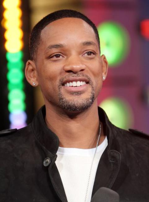 Will Smith at the MTV's Total Request Live.