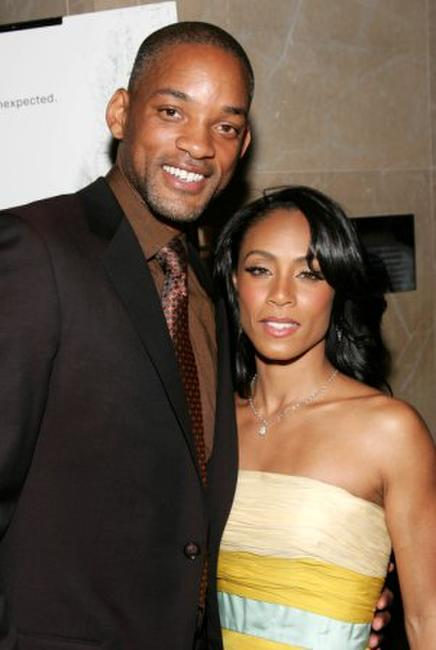 Will Smith and Jada Pinkett Smith at the New York premiere of