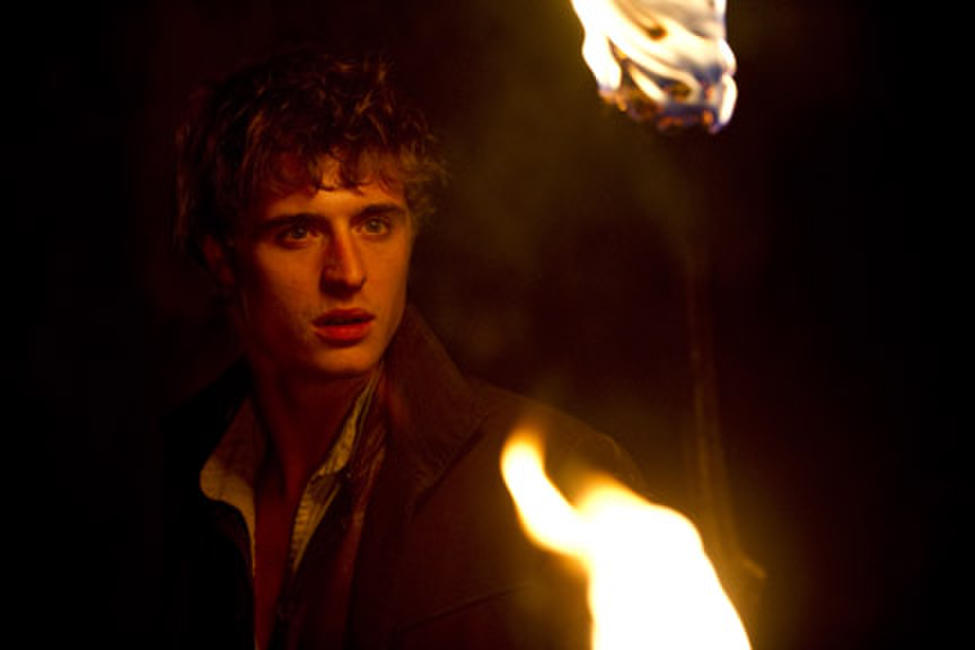 Max Irons as Henry in ``Red Riding Hood.''