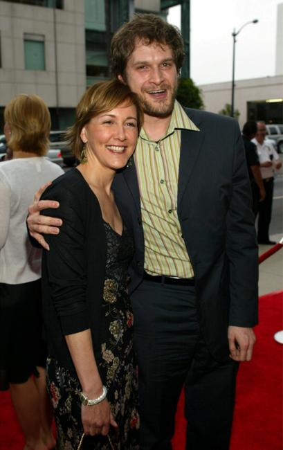 Cynthia Stevenson and Bryan Fuller at the premiere of