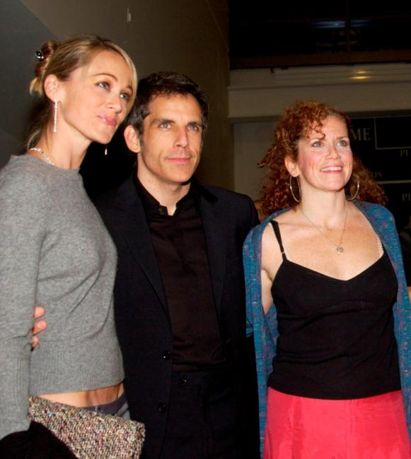 Christine Taylor, Ben Stiller and Amy Stiller at the Calhoun School Dedication and Gala Benefit.