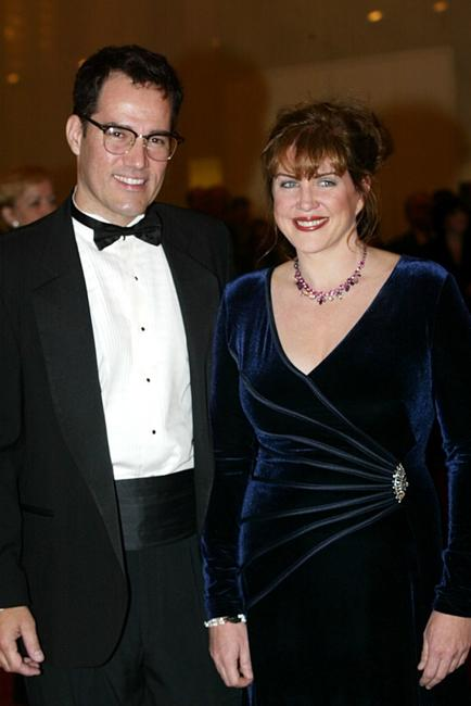 Julia Sweeney and her boyfriend James Underdown at the 5th Annual Kennedy Center Mark Twain Prize presentation ceremony.